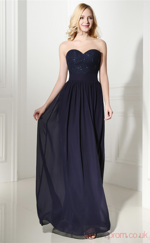 4prom.co.uk reviews? Navy-Blue-Lace-Chiffon-A-line-Sweetheart-Sleeveless-Evening-Dresses(JT4-06411)-JT4-06411-31