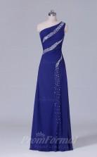 A-line Regency Chiffon Floor-length Prom Dress(PRBD04-S503)