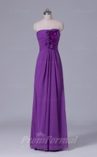 A-line Light Purple Chiffon Floor-length Prom Dress(PRBD04-S520)