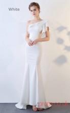 Evening Waist Cut Out One Shoulder Clubwear Dress Auto Salon Girls BX-G827