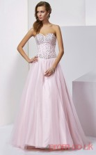 Blushing Pink Tulle Sweetheart Floor-length Princess Quincenera Dress(JT2050)