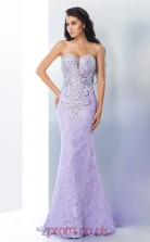 Lilac Lace Sweetheart Floor-length Mermaid Prom Dress(JT2531)