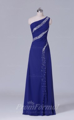 A-line Regency Chiffon Floor-length Prom Dress(PRBD04-S503)