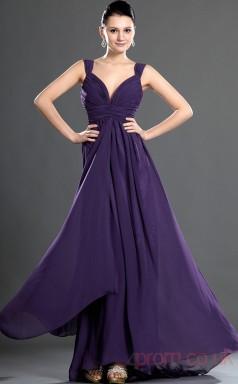 Regency Lace A-line Straps Long Evening Dress-(BD04-540)