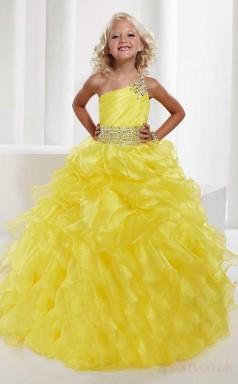 Ball Gown Sweetheart Lilac Kids Girls Dress CH0168