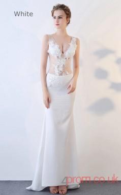 Evening Illusion V-neck Clubwear Dress Auto Salon Girls BX-G825