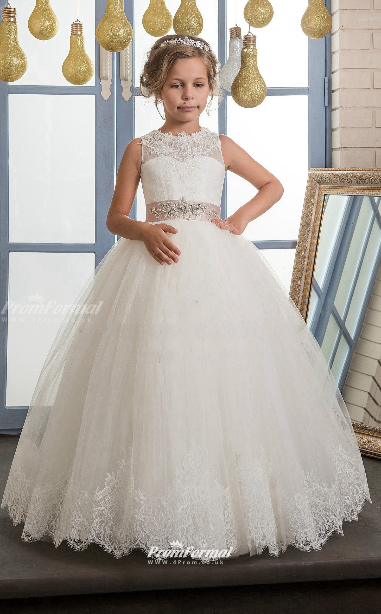 Tulle , Lace Princess Illusion Sleeveless Dresses for 20 years olds ...