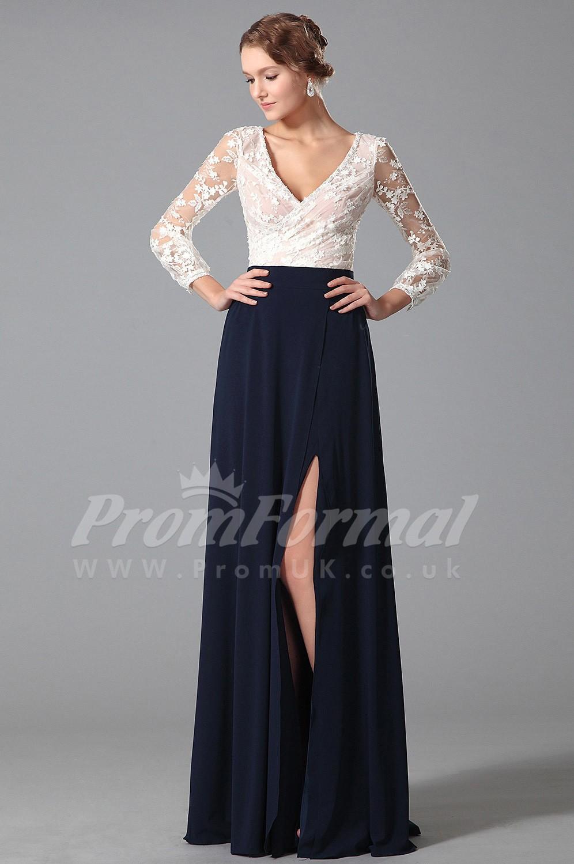 e5bf6b9050a4 Long V Neck Prom Dress Uk - raveitsafe