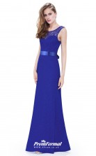 Blue Illusion Bridesmaid Dresses 4MBD020