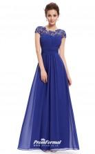 Blue Illusion Bridesmaid Dresses 4MBD024