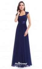 Navy Blue Bridesmaid Dresses 4MBD030