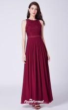 BurgundyBridesmaid Dresses 4MBD046