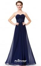 Blue Sweetheart Bridesmaid Dresses 4MBD064