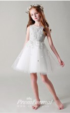 Cute Kids Short Communion Dress BCH020