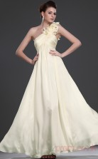Daffodil 100D Chiffon A-line One Shoulder Long Evening Dress-(BD04-474)