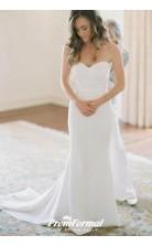 Strapless Simple Sweetheart Country Mermaid Wedding Dress Birmingham BWD139