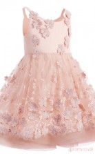 A-line Sleeveless Kids Prom Dress for Girls CH0123