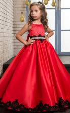 Princess Sleeveless Kids Prom Dress for Girls CH0124