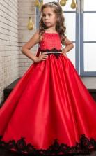 Princess Sleeveless Kids Prom Dress for Girls CH0124