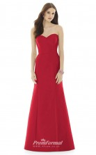 DASUKD728 Plus Sides Mermaid/Trumpet Sweetheart Ruby 1 Satin With Open Back Bridesmaid Dresses