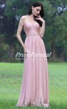 EBD006 Sweetheart Pink Bridesmaid Dresses