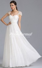 EBD030 Sweetheart White Bridesmaid Dresses