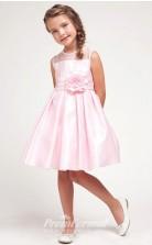 Cute A-line Short/Mini Pink Flower Girls Dresses FGD433