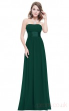 A-line Strapless Long Dark Green Sequined Cocktail Dresses(PRJT04-1930-H)