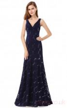 Mermaid V-neck Long Regency Lace Prom Dresses(PRJT04-1944-D)