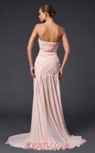 Pearl Pink Chiffon Trumpet/Mermaid Sweetheart Floor-length With Split Side Prom Formal Dresses(JT2794)