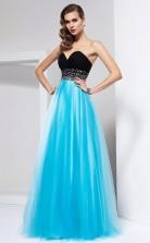 Pool Tulle A-line Sweetheart Floor-length Bridesmaid Dresses(JT2803)