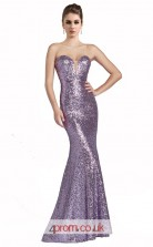 Silver Sequined Mermaid Sweetheart Long Prom Dress(JT3593)