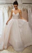 Sweetheart Long Sparkly Prom Dress Charming Evening Dress  JTA0381
