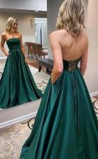Long Beads Prom Dress Chiffon Sleeveless Evening Dress JTA2151