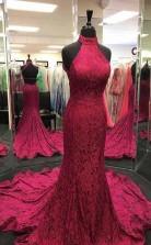 Charming Burgundy A Line Prom Formal Dress JTA2181