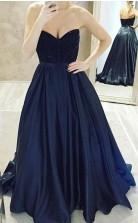 Ball Gown Sweetheart Floor Length Prom Dress Long Evening Gown JTA2931