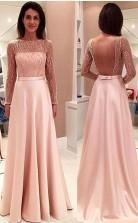 Glamorous Long Sleeveless Open Back Prom Formal Dress JTA3341