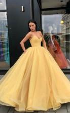 Organza Ball Gowns Prom Dress Sweetheart Evening Dress JTA7091
