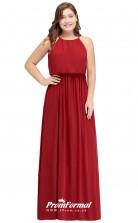 Ruby Long  Jewel Bridesmaid/Party Dresses PPBD008