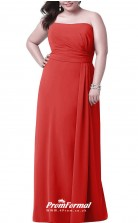 Red Long  Off the shoulder Bridesmaid/Party Dresses PPBD018