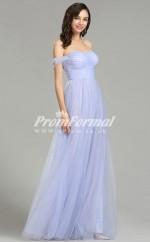 EBD008 Off The Shoulder Lalic Bridesmaid Dresses