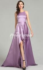 EBD010 Halter Purple Bridesmaid Dresses