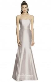 DASUKD742 Plus Sides Mermaid/Trumpet Sweetheart Sliver 73 Satinper Bridesmaid Dresses