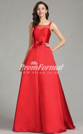 EBD025 Illusion Red Bridesmaid Dresses