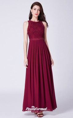 BurgundyBridesmaid Dresses 4MBD046