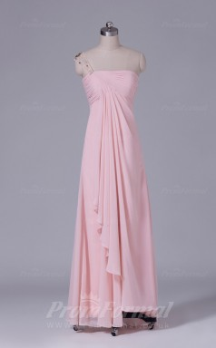 Sheath/Column Pearl Pink Lace Floor-length Prom Dress(PRBD04-S438)