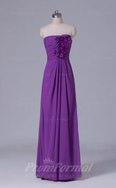 A-line Light Purple Chiffon Floor-length Prom Dress(PRBD04-S520)