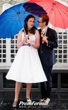 Marilyn Monroe Straps Simple Rockabilly 50s Style Plus Size Wedding Dress BWD143