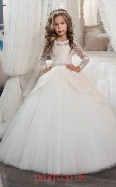 Kids Prom Dresses For Teens Primary Flower Girls Aged 6 7
