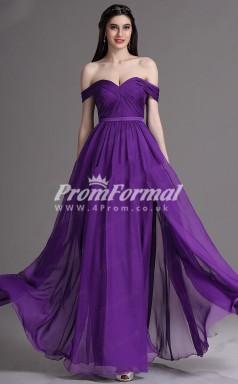 EBD013 Sweetheart Purple Bridesmaid Dresses